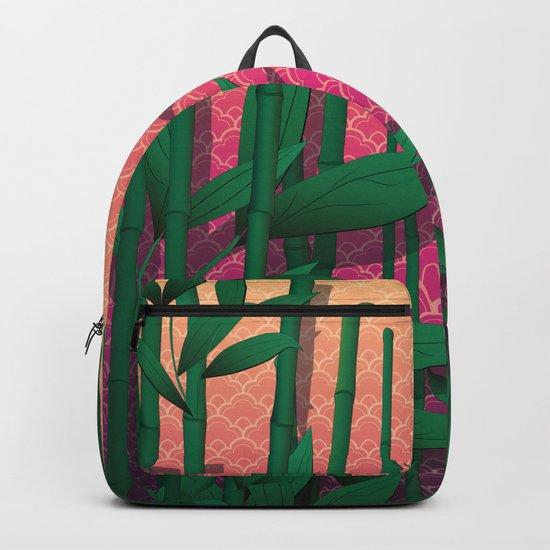 Japanese Sunset Backpack