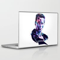 arnold Laptop & iPad Skins featuring Arnold Schwarzenegger: BAD ACTORS by mergedvisible