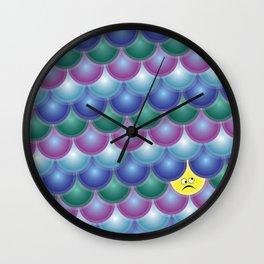 Rough Seas ahead - Geometrics Wall Clock