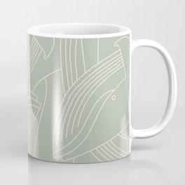 Minimalist Blue Whale Coffee Mug