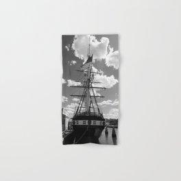 Baltimore Harbor - USS Constellation Hand & Bath Towel