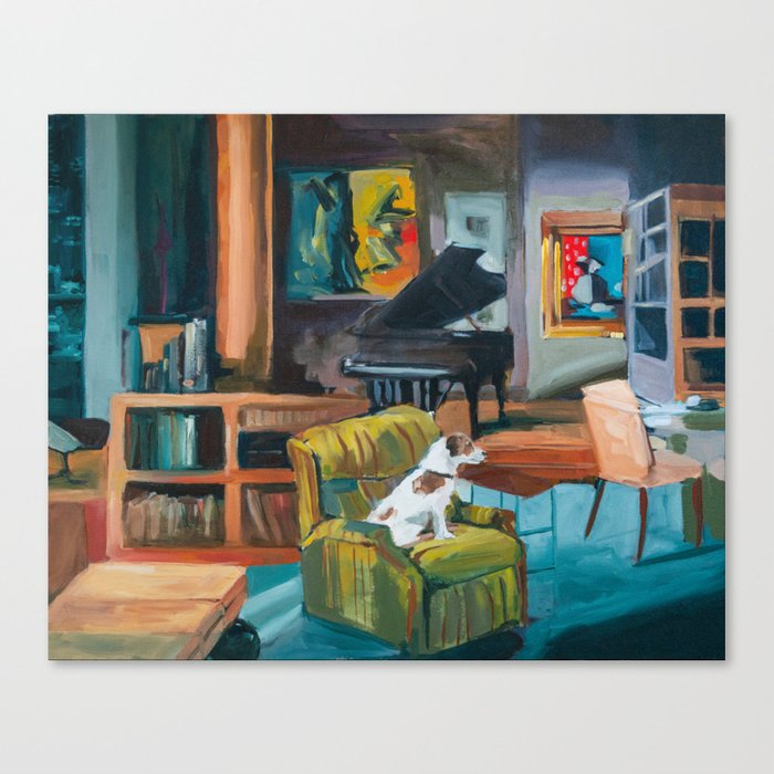 Frasier's apartment Canvas Print