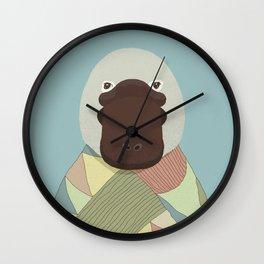 Whimsical Platypus Wall Clock