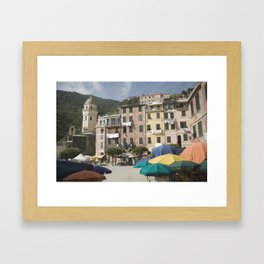 Vernazza Framed Art Print