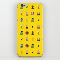 avenger iPhone & iPod Skins featuring Avenger by ShannonHatchNZ