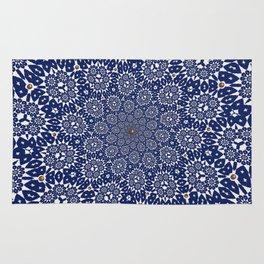 Bleu Gyre Royale Rug