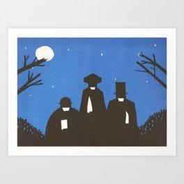 The Butchers Art Print