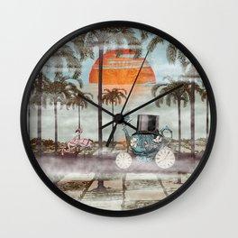 Alice Goes to California Wall Clock