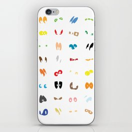 Different Eyes  iPhone Skin