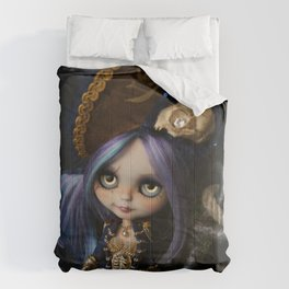 LADY BUCCANEER PIRATE OOAK BLYTHE ART DOLL Comforters