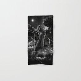 XVII. The Star Tarot Card Illustration Hand & Bath Towel