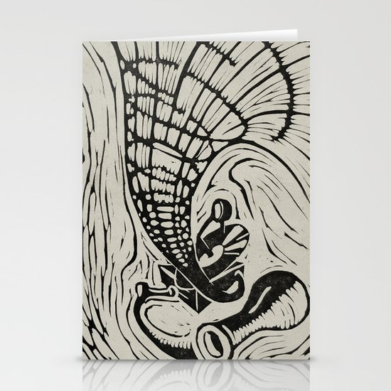Gramophone Stationery Cards