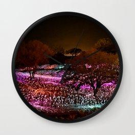 Field of Light Wall Clock