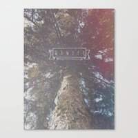 wander Canvas Prints featuring Wander by Christine VanFonda