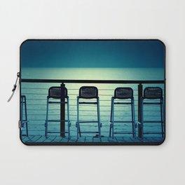Blue Bar Stools Laptop Sleeve