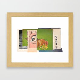 nothing and everything Framed Art Print
