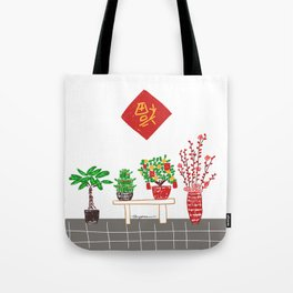 lucky tree Tote Bag