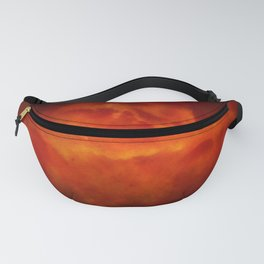 Firestorm In Heaven - Gothic Glam Clouds Fanny Pack