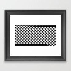 pixelwarp Framed Art Print