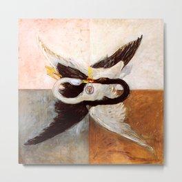 "Hilma af Klint ""The Swan, No. 24, Group IX-SUW, 1915"" Metal Print"