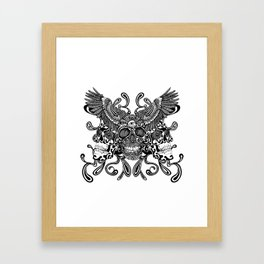 Pineal Death  Framed Art Print
