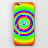 lsd iPhone & iPod Skins featuring LSD rainbowdrops by moleculestore