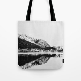 Lake and Mountains Tote Bag