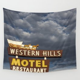 Western Hills- Horizontal Wall Tapestry