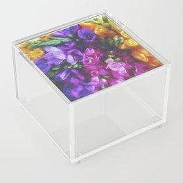 Freesias Acrylic Box