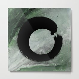 Enso Abstract No. 8H by Kathy Morton Stanion Metal Print