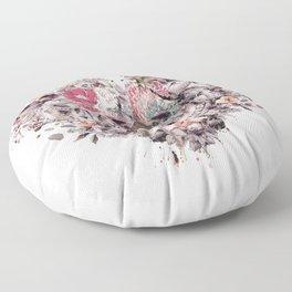 Momento Mori VIII Floor Pillow