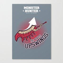 Monster Hunter All Stars - The Kotoko Upswings  Canvas Print