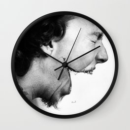Speak Out Wall Clock