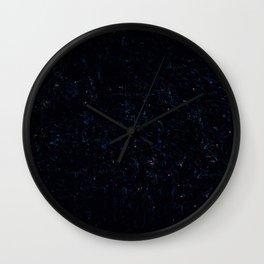 Shining Darkness Wall Clock