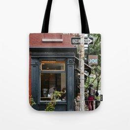 Picturesque restaurant in Greenwich Village, New York Tote Bag