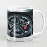 lamborghini Mugs featuring Lamborghini Sesto Elemento  by Spyck