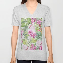 Tropical Garden 2 Unisex V-Neck