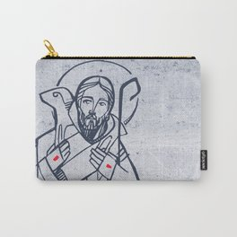 Jesus Christ Good Sheperd Carry-All Pouch