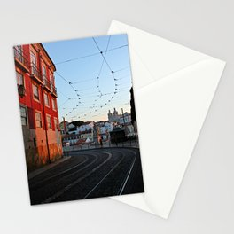 Everything you could find after the curve if you took the curve Stationery Cards