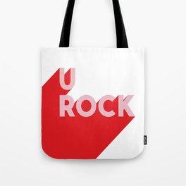 U Rock Tote Bag