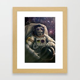 Space Farer Framed Art Print