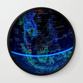 Southeast Asia Wall Clock