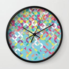 Giddy Geometric Wall Clock