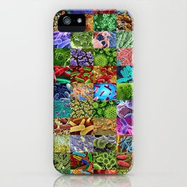 Bacteria Montage iPhone Case
