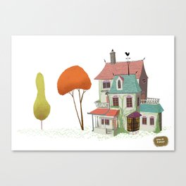 Mansion Canvas Print