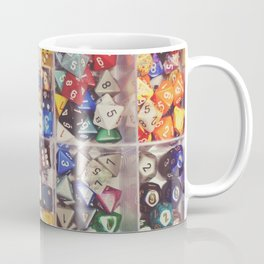 Colorful Dice Coffee Mug