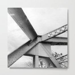 Girders - 2 Metal Print
