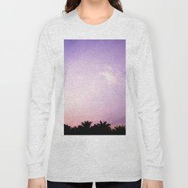 Blush pink purple sky Long Sleeve T-shirt