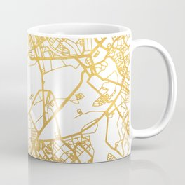 MANILA PHILIPPINES CITY STREET MAP ART Coffee Mug