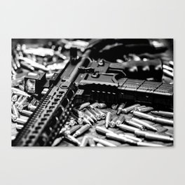 AR-15 Rifle Canvas Print